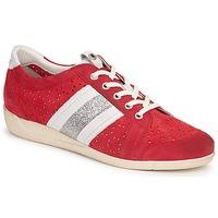 Cipők Női Rövid szárú edzőcipők Janet Sport MARGOT ODETTE Piros