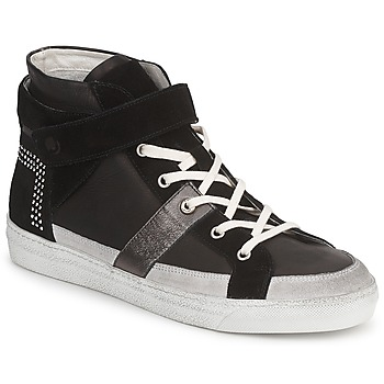 Cipők Női Magas szárú edzőcipők Janet Sport ISABEL MARGETTE Fekete