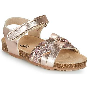 Cipők Lány Szandálok / Saruk Mod'8 KOENIA Rózsaszín / Arany