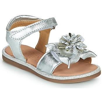 Cipők Lány Szandálok / Saruk Mod'8 PAXILLA Ezüst