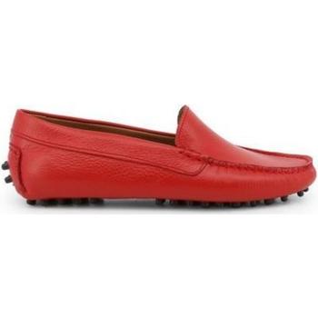 Cipők Női Mokkaszínek Made In Italia FOTOROMANZA ROSSO Rojo