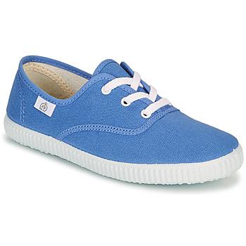 Cipők Gyerek Rövid szárú edzőcipők Citrouille et Compagnie KIPPI BOU Kék