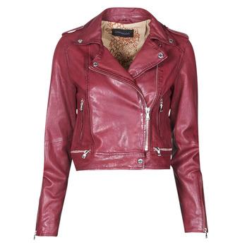 Ruhák Női Bőrkabátok / műbőr kabátok Oakwood KYOTO Bordó