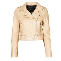 Ruhák Női Bőrkabátok / műbőr kabátok Oakwood YOKO Krém