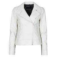 Ruhák Női Bőrkabátok / műbőr kabátok Oakwood MARJORY Fehér