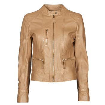 Ruhák Női Bőrkabátok / műbőr kabátok Oakwood EACH Teve