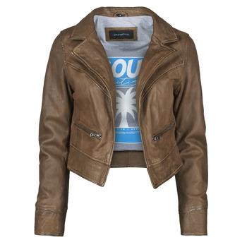 Ruhák Női Bőrkabátok / műbőr kabátok Oakwood TRISH Barna