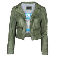 Ruhák Női Bőrkabátok / műbőr kabátok Oakwood TRISH Zöld