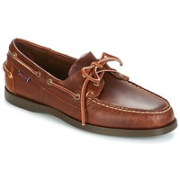 Cipők Férfi Vitorlás cipők Sebago DOCKSIDES Barna