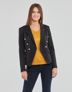 Ruhák Női Kabátok / Blézerek Les Petites Bombes AGATHE Fekete
