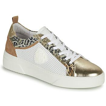 Cipők Női Rövid szárú edzőcipők Philippe Morvan SOAPY V3 Fehér / Barna