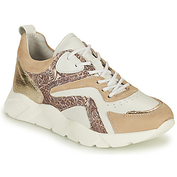 Cipők Női Rövid szárú edzőcipők Philippe Morvan VOOX V1 Fehér / Bézs