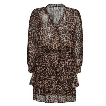 Ruhák Női Rövid ruhák Liu Jo WA1530-T5059-T9680 Leopárd