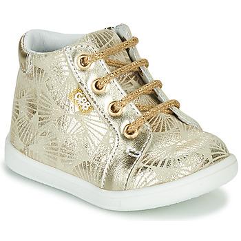 Cipők Lány Magas szárú edzőcipők GBB FAMIA Bézs