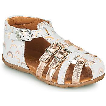 Cipők Lány Szandálok / Saruk GBB RIVIERA Fehér