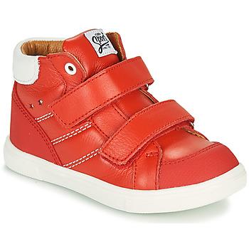 Cipők Fiú Magas szárú edzőcipők GBB MORISO Piros