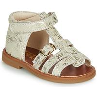 Cipők Lány Szandálok / Saruk GBB PHILIPPINE Bézs / Arany