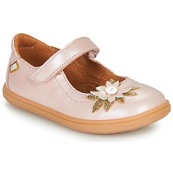 Cipők Lány Balerina cipők  GBB FANETTA Rózsaszín