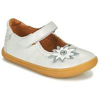 Cipők Lány Balerina cipők  GBB FANETTA Fehér