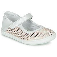 Cipők Lány Balerina cipők  GBB PLACIDA Fehér