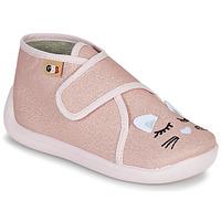 Cipők Lány Mamuszok GBB APODIE Rózsaszín