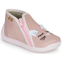 Cipők Lány Mamuszok GBB APOLA Rózsaszín