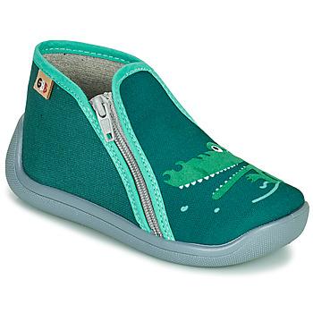 Cipők Lány Mamuszok GBB APOMO Zöld