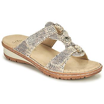 Cipők Női Szandálok / Saruk Ara HAWAII Bézs
