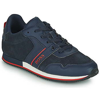 Cipők Fiú Rövid szárú edzőcipők BOSS HOLLA Kék