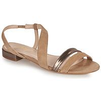 Cipők Női Szandálok / Saruk Betty London OCOLI Bézs