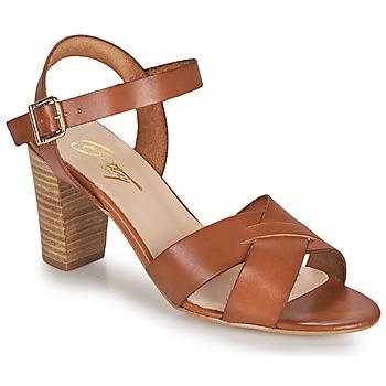 Cipők Női Szandálok / Saruk Betty London OCOLA Teve