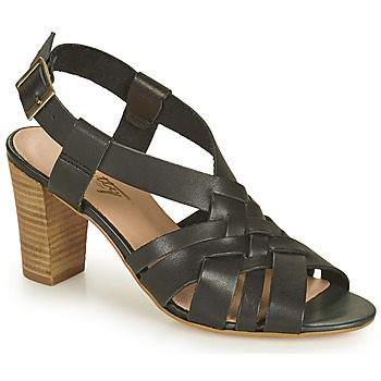 Cipők Női Szandálok / Saruk Betty London OCHAT Fekete
