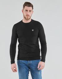 Ruhák Férfi Hosszú ujjú pólók Emporio Armani EA7 8NPTL9-PJ03Z-1200 Fekete