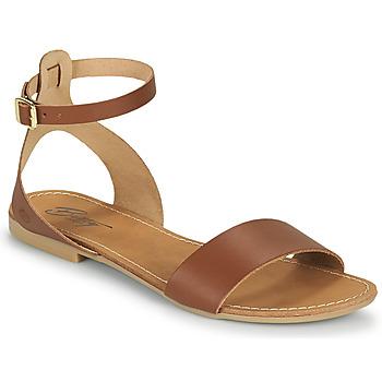 Cipők Női Szandálok / Saruk Betty London GIMY Teve