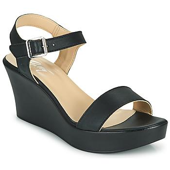 Cipők Női Szandálok / Saruk Betty London CHARLOTA Fekete