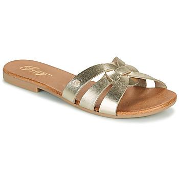 Cipők Női Papucsok Betty London OIGILE Arany