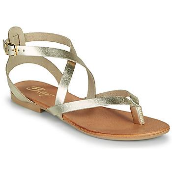 Cipők Női Szandálok / Saruk Betty London OPALACE Arany