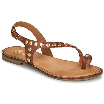 Cipők Női Szandálok / Saruk Betty London OPATIO Teve