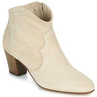 Cipők Női Bokacsizmák Betty London OISINE Bézs