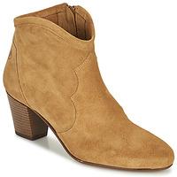 Cipők Női Bokacsizmák Betty London OISINE Teve