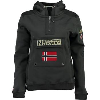 Ruhák Fiú Pulóverek Geographical Norway GYMCLASS Szürke