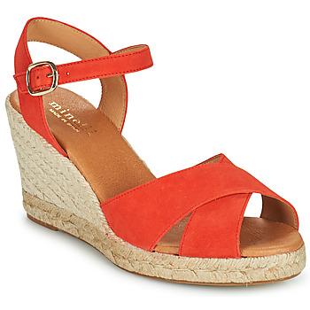 Cipők Női Szandálok / Saruk Minelli OMELLA Piros