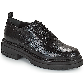 Cipők Női Oxford cipők Minelli EMYLANDE Fekete