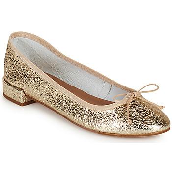 Cipők Női Balerina cipők  Minelli PLIVIA Arany
