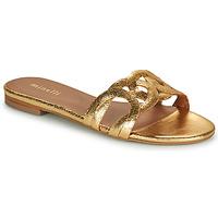 Cipők Női Papucsok Minelli NANCIA Arany