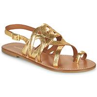 Cipők Női Szandálok / Saruk Minelli NOUNNA Arany