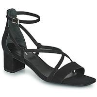 Cipők Női Szandálok / Saruk Minelli HENRIETA Fekete