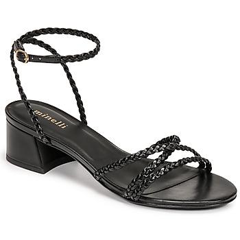 Cipők Női Szandálok / Saruk Minelli HARIETTE Fekete