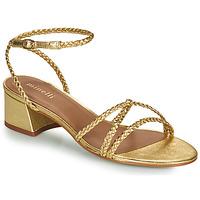 Cipők Női Szandálok / Saruk Minelli HARIETTE Arany