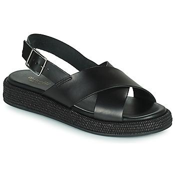 Cipők Női Szandálok / Saruk Minelli HADDIA Fekete